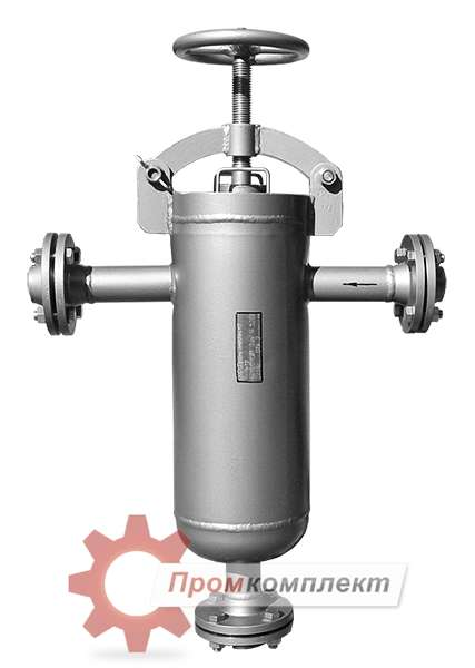 Фото фильтр сетчатый с быстросъемной крышкой