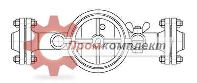 Фильтр сетчатый с быстросъемной крышкой (чертеж)