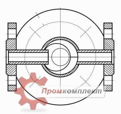 Схема фильтр сетчатый ФС VIII