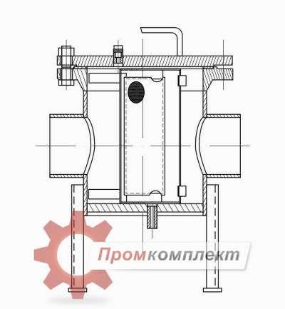 Фильтр временный ФСВ-ХХ-1(1С) (чертеж)