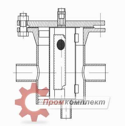 Фильтр временный ФСВ-ХХХ-2(2С) (чертеж)