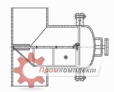 Чертеж фильтр тройниковый ФТ-150-16