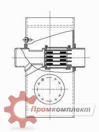 Чертеж грязевик вертикальный серия 5.903-13