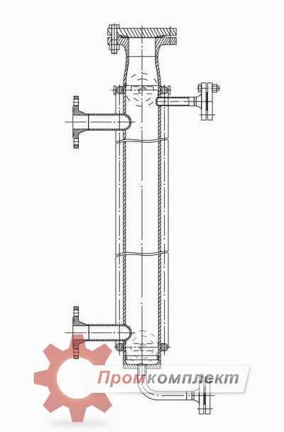 Камера уровнемерная выносная КУВ (схема)