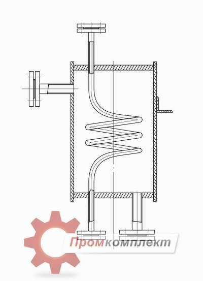 Схема охладителя проб
