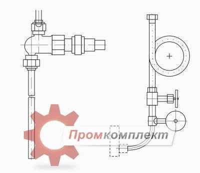 Отборные устройства давления по ЗК, ТМ и СТМ схема