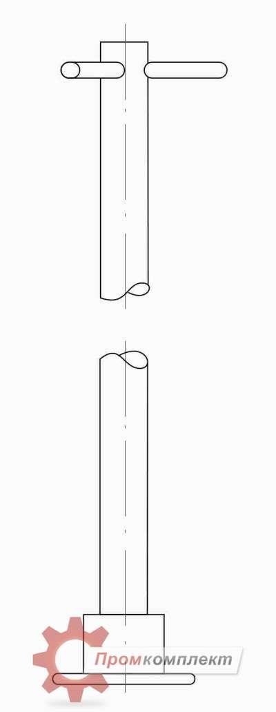Удлинитель для арматуры (схема)